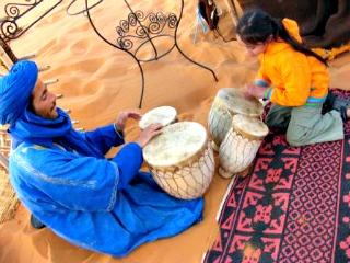 Op bezoek bij de nomaden