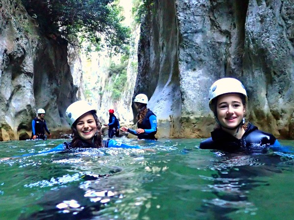 Canyoning in de Pyreneeën