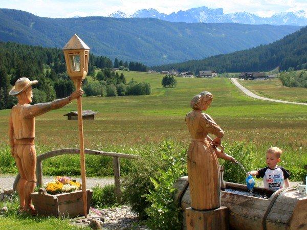 Lekker spelen in de Dolomieten
