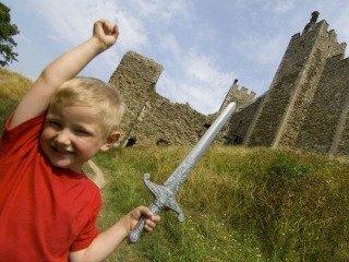 Bij Dover Castle