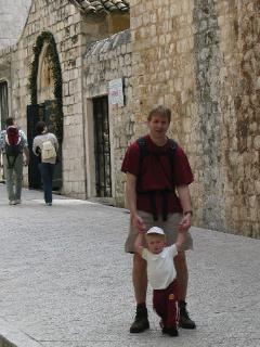 Met een peuter in Dubrovnik