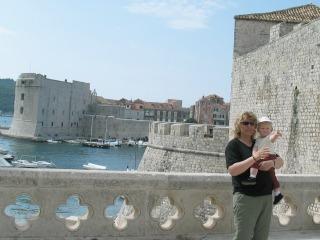 In Dubrovnik toen Zeb nog een dreumes was