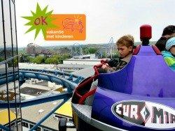 De Euromir achtbaan in Europapark