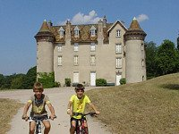 mooie fietstocht in Frankrijk