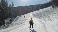 Skien met kinderen in Italie