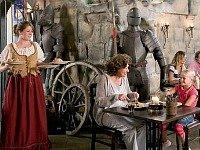 middeleeuws restaurant bij landal landgoed 't Loo