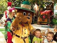 Mascotte Bollo bij het Vennenbos