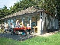 Jungalow huisje bij Libéma vakantiepark Beekse Bergen