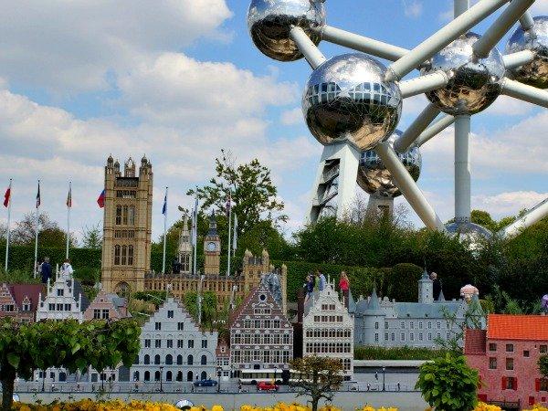 België, met mini Europa en Atomium in Brussel