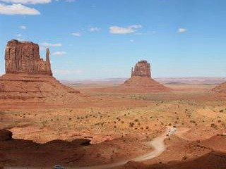 Monument Valley in de USA