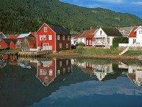 Typisch Noorse huisjes