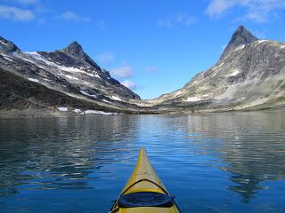 Kayaken bij de Jotunheimen