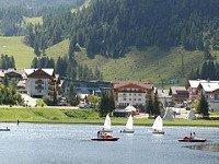 Bootjes op een Oostenrijks meer