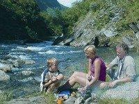 Picknicken in de geweldige Noorse natuur