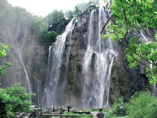 Waterval bij de Plitvice meren