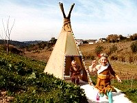 Indianendorp bij Quinta Laranja