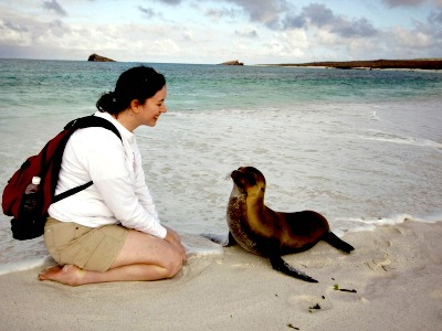 Bijzondere ontmoeting op de Galapagos eilanden