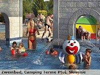 Zwembad bij Camping Terme Ptuj