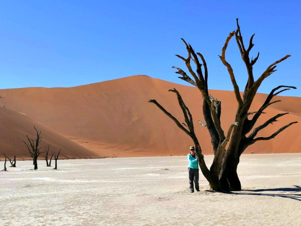 De Sossusvlei in Nambibië