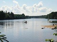 Kanoën in Zweden met Pharos