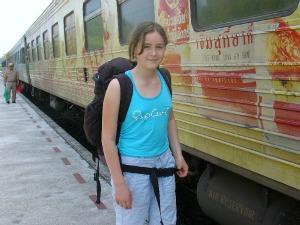 Met de trein in Thailand