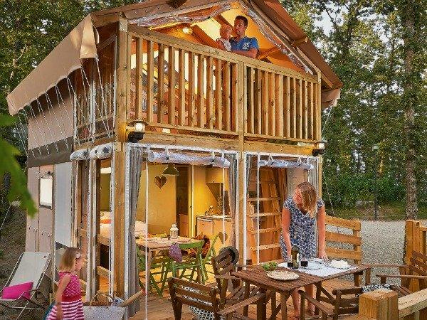 Glamperen met kinderen, lekker luxe kamperen