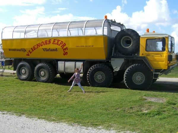 De Vliehorst Express op Vlieland