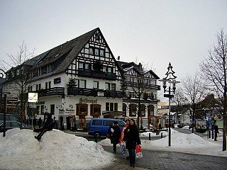 Sfeervol Winterberg in de sneeuw