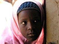 Meisje in Zuid-Afrika