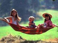 Lekker relaxen in een hangmat