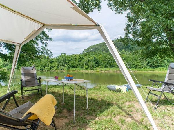 Ook kampeerplaatsen op de mooiste plekjes