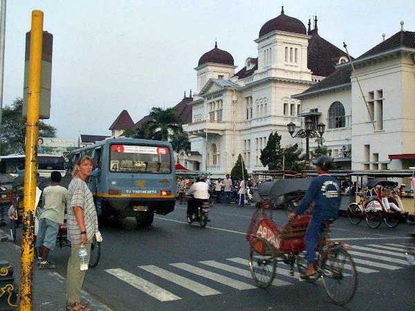 Wandelen in Yogyakarta