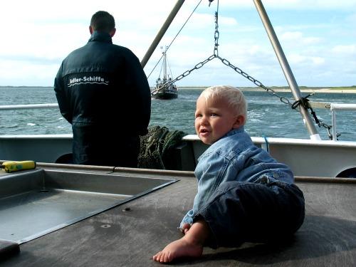 Tycho wacht op de vangst die wordt binnengehaald