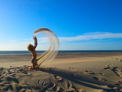 Zon, zee, zand en wind