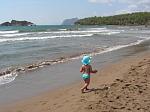 zoontje op strand Dalyan