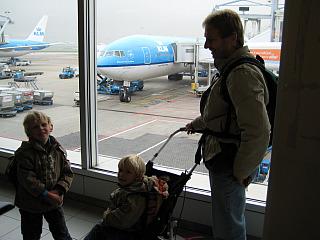 Terug op Schiphol!