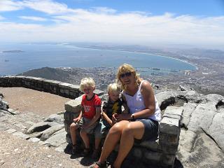 Uitzicht op de Tafelberg