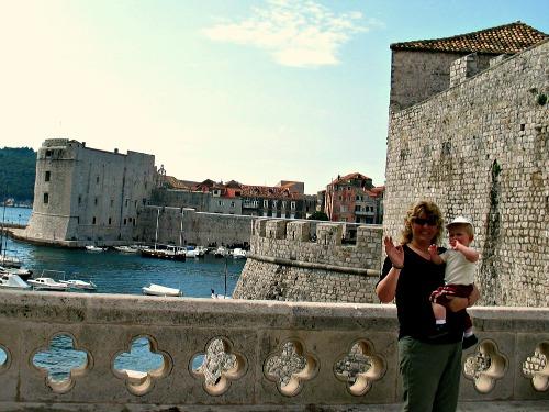 Zwaaien in Dubrovnik