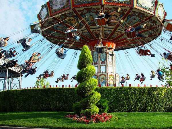 Zweefmolen in Magic Park