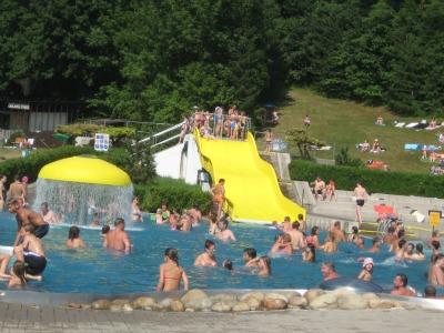 Het zwembad van Chrudim