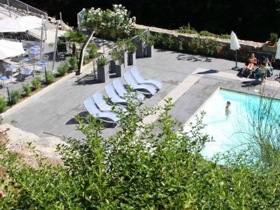 Het zwembad bij La Manufacture