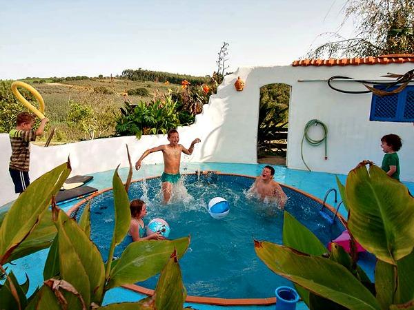 Het zwembad bij Quinta Antes o Vento