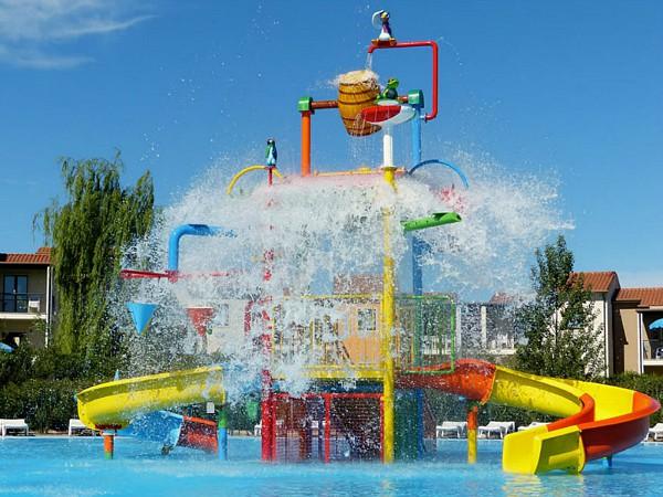 waterspeelpark op vakantiepark belvedere