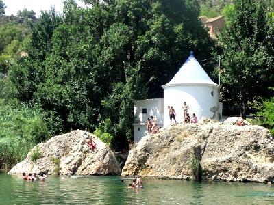 Zwemmen in de Turia rivier